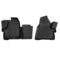 Guminiai kilimėliai FORD Tourneo Custom (1+1 vietų) 2013→ (pakeltais kraštais)