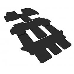 Tekstiliniai kilimėliai LANCIA PHEDRA 2002-2014 (3 eilės)