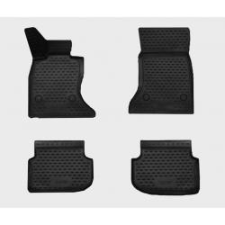 Guminiai kilimėliai BMW 5 (F10) 2010-2013 (pakeltais kraštais)