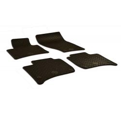 Guminiai kilimėliai PORSCHE Cayenne 2010-2017 (su originaliais tvirtinimais, juodos spalvos)