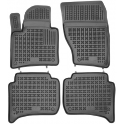 Guminiai kilimėliai PORSCHE Cayenne II 2010-2017 (Paaukštintais kraštais)