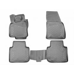 Guminiai kilimėliai SEAT Tarraco 2018→ (Pilkos spalvos, Pakeltais kraštais)