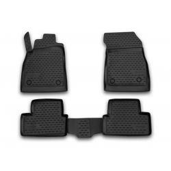 Poliuretaniniai kilimėliai CHEVROLET Cruze Hatchback 2011→ (Juodi, Pakeltais kraštais)
