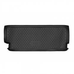 Poliuretaninis bagažinės kilimėlis TESLA Model X 2015→ (7 vietų, Galinė dalis)