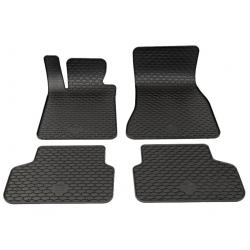 Guminiai kilimėliai BMW 5 Touring (G31) 2016→ (Juodos spalvos)