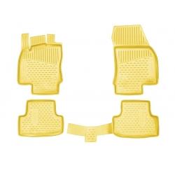 Kilimėliai 3D SEAT Ateca 2016->, 4 pcs. beige /L55007B0