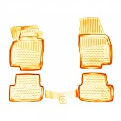 Kilimėliai 3D SEAT Arona 2017-> 4 pcs. beige /L55009B0