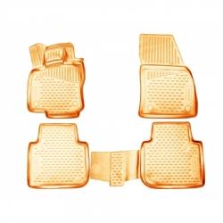 Kilimėliai 3D SEAT Tarraco 2018->, 4 pcs. beige /L55010B0